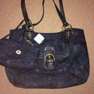 Coach Purse w/hand bag
